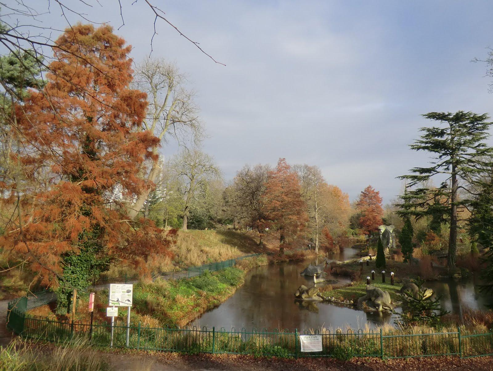 CIMG4966 Dinosaur Lake, Crystal Palace Park