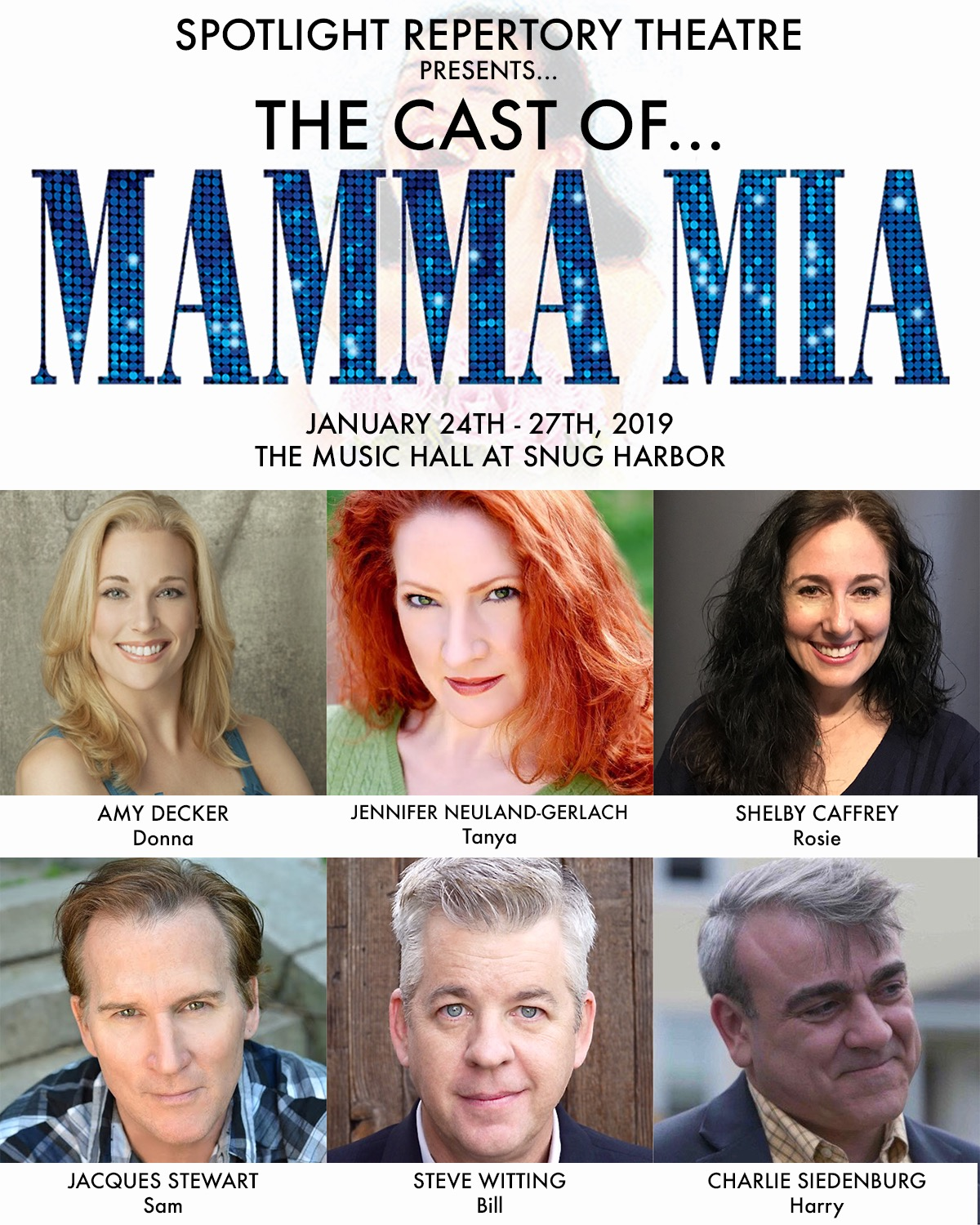 Spotlight Theatre Company Introduces The Smash Hit MAMMA MIA!