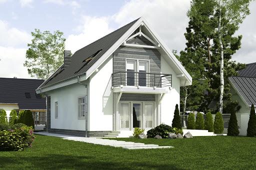 projekt Bolek II bez garażu B