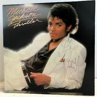 Michael Jackson Signed 'Thriller' Album