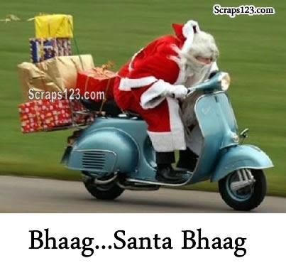 Funny Santa Claus  Image - 1