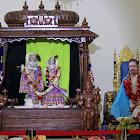 Program: Sri Guruji Kirthans and Nama Sankirthan and followed by Dolotsavam.