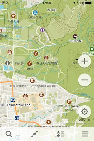 MAPS.MEの自作地図