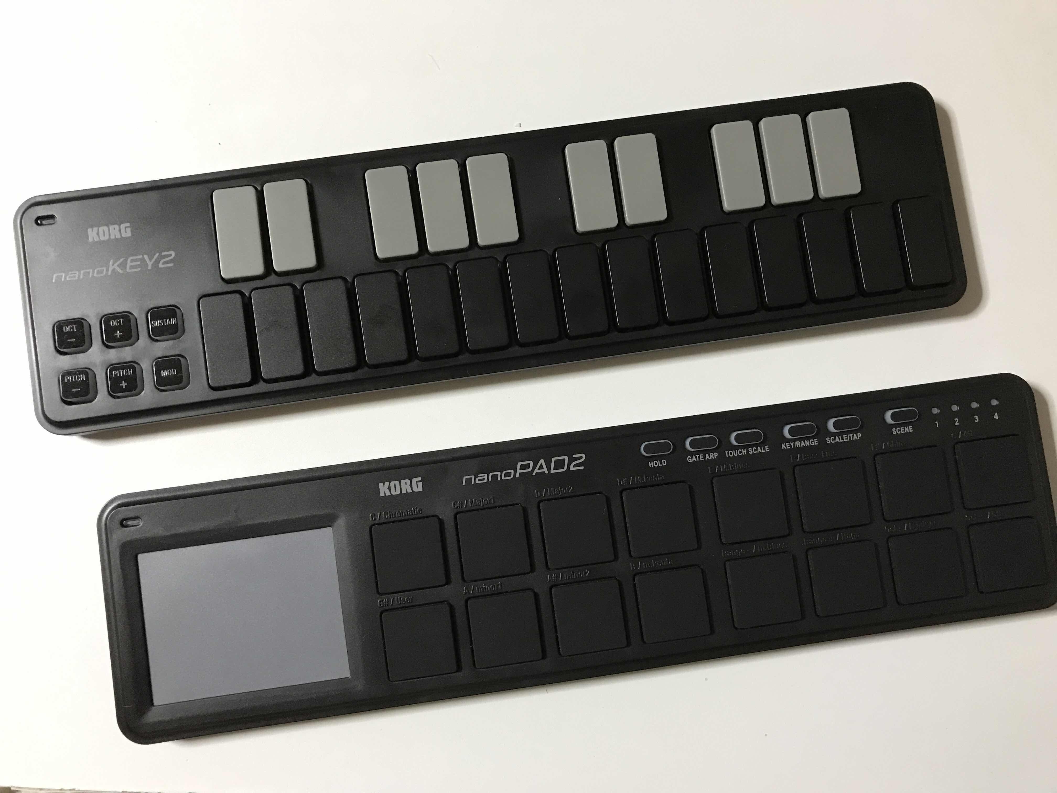 KORG NanoKey・Pad2