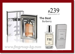 Парфюм FM 239 PURE - BURBERRY - The Beat