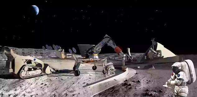 build a Lunar Base