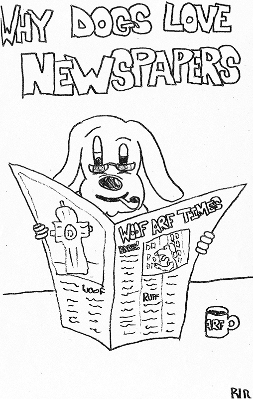 Why Dogs Love Newspapers - The Woof-Arf Times