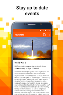 All news in one app, Newsstand- screenshot thumbnail