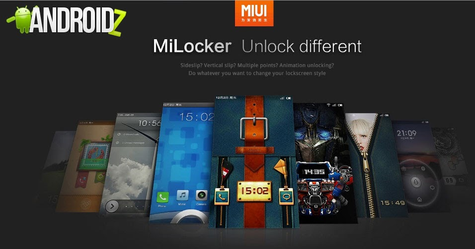 MiLocker 1.3.1 for android - Best Android Game App