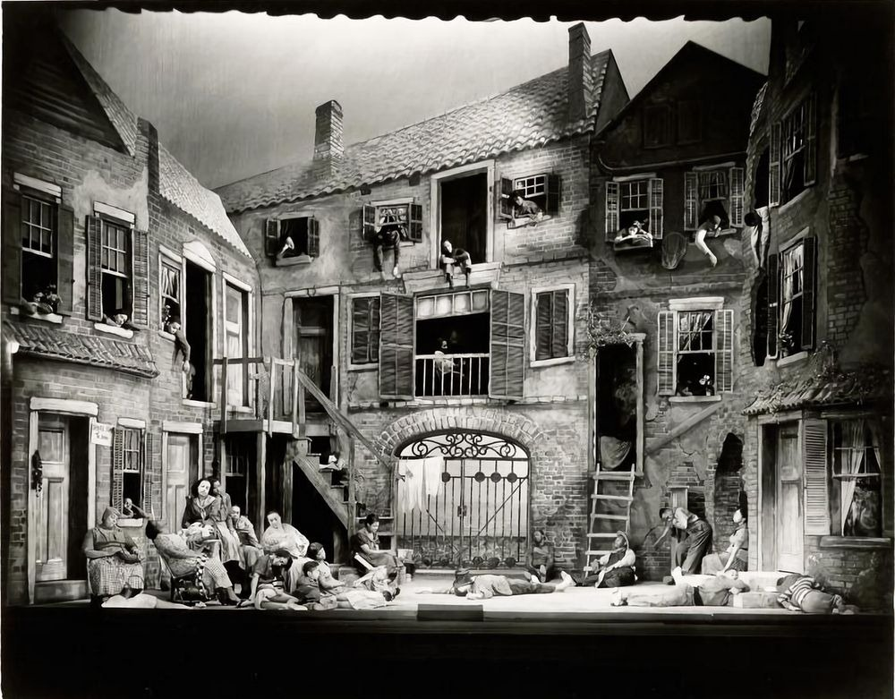 The Spectacular Sets of Early 20th Century New York Theater
