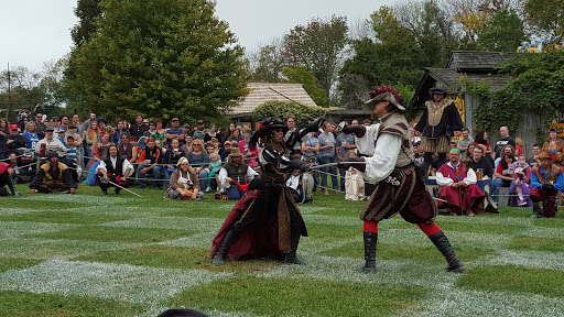 Human combat chess at the Ohio Renaissance Festival