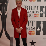OIC - ENTSIMAGES.COM - Lucky Blue Smith at the  The BRIT Awards 2016 (BRITs) in London 24th February 2016.  Raymond Weil's  Official Watch and  Timing Partner for the BRIT Awards. Photo Mobis Photos/OIC 0203 174 1069