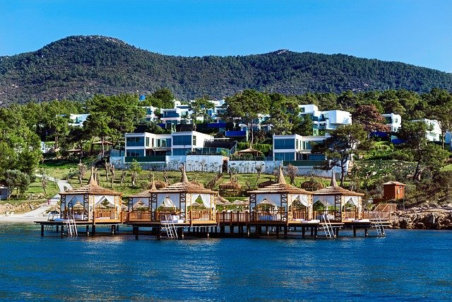 beautiful view of bodrum