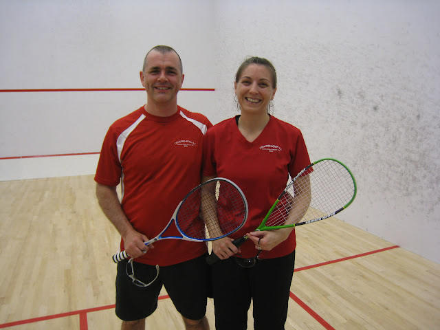 Open 5.5 Winners - Paul and Wendy Ansdell