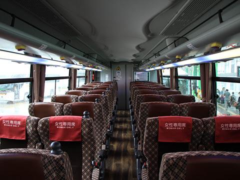 JRバス関東「佐久・小諸3号」 長野1578 車内