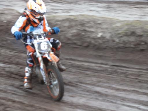 Speedway door de bocht