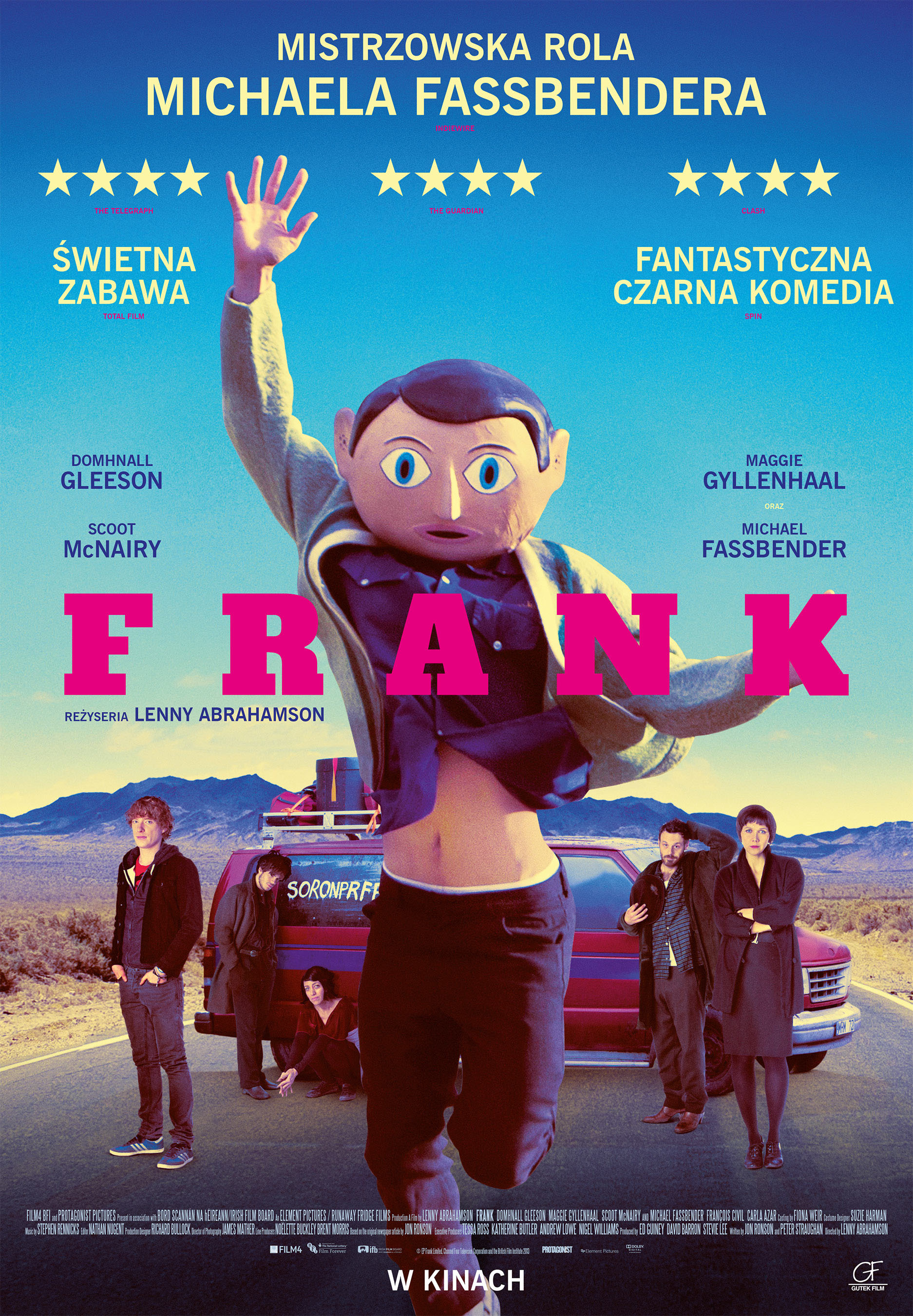 Polski plakat filmu 'Frank'