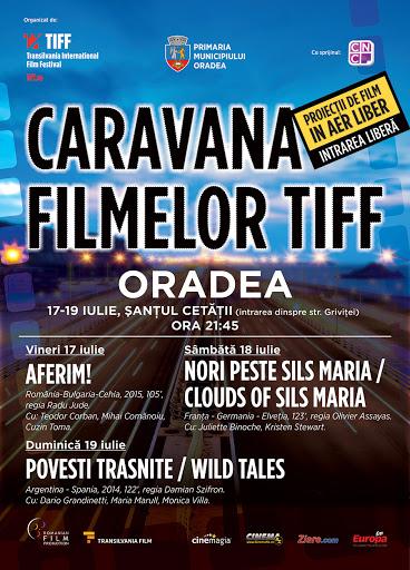 Caravana Festivalului Internaţional de Film Transilvania (TIFF) revine în Oradea #1
