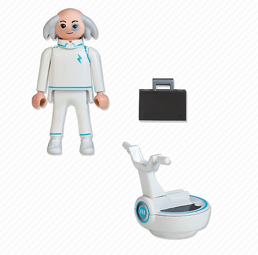 Contenido real de Playmobil® 6690 Doctor X
