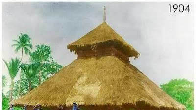 Masjid Asal Penampaan, Aceh, tahun 1904