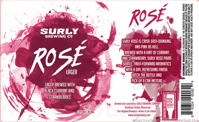 Surly Rosé Lager Coming To 16oz Cans