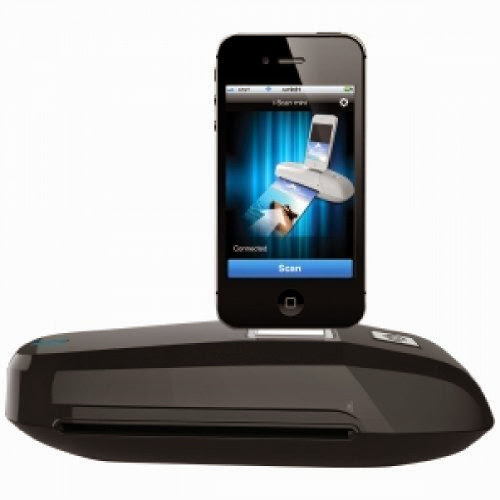iPhone/iPod Docking Scanner Black