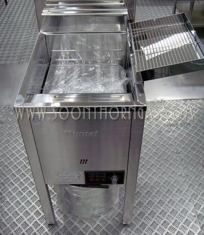 เครื่่องทอดอาหาร RINNAI รุ่น RFA-227G ระบบ Digital One Touch ขนาดจุน้ำมัน 23 ลิตร