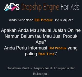 dropship engine for ads tools untuk menentukan produk yang sedang tren