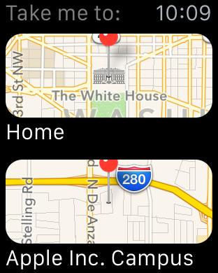 アップルウォッチで簡単にナビゲーションを開始する3