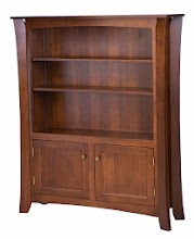 Wooden Door Bookshelves