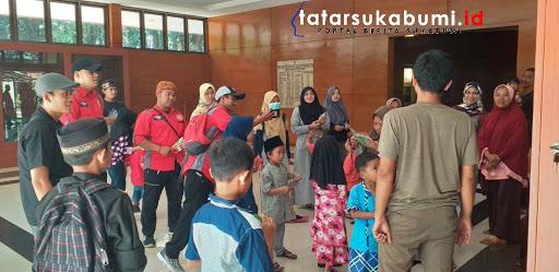 Yayasan Ruang Peduli Maber 25 Yatim Piyatu di Monumen Perjuangan Palagan Bojongkokosan