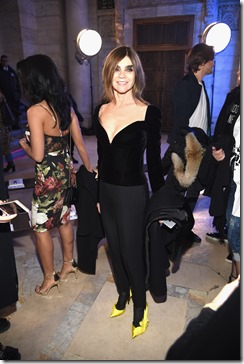 NEW YORK, NY - FEBRUARY 13:  Carine Roitfeld attends the Philipp Plein Fall/Winter 2017/2018 Women's And Men's Fashion Show at The New York Public Library on February 13, 2017 in New York City.  (Photo by Dimitrios Kambouris/Getty Images for Philipp Plein)