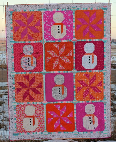 Let it Snow Quilt by Kim Lapacek