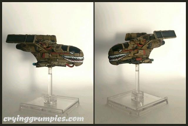 Mercenario Despiadado/G-1A modificado y pintado por Xela