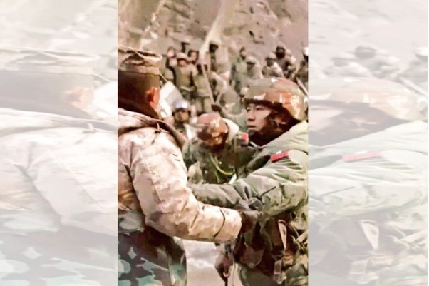 Chinese Video Shows Bravery of Indian Army's officer during Galwan Clash.