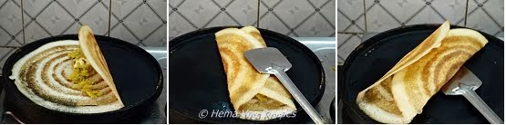Masala Dosa Preparation