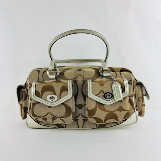 *SALE* Coach Monogram Shoulder Bag