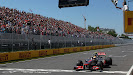 Lewis Hamilton, McLaren MP4-27 wijs again