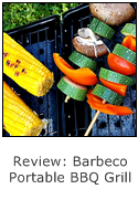 review of barbeco portable BBQ grill