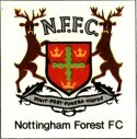 deer surmounting shield and motto for old NFFC badge