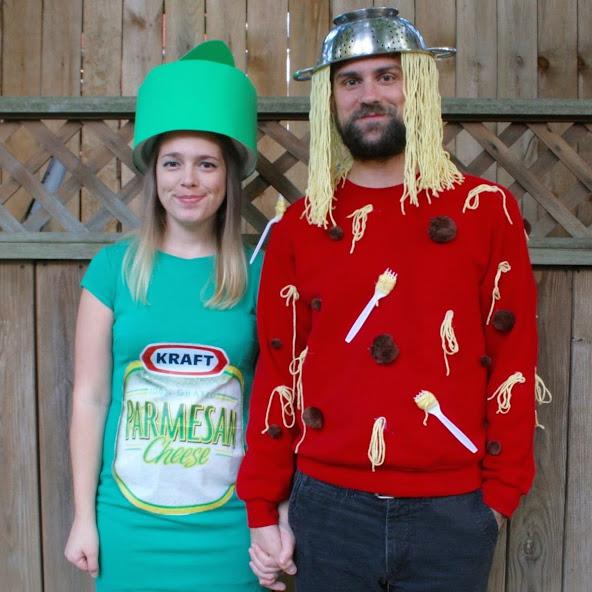 Spaghetti & Parm Costumes