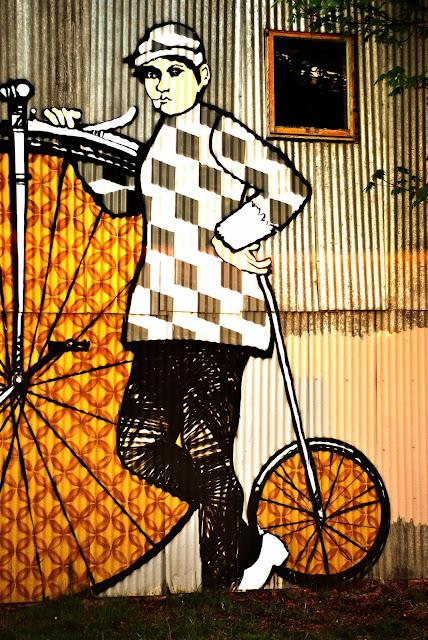Bike Mural / Credit: Kerstin Martin