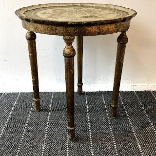 Italian Polychrome Side Table