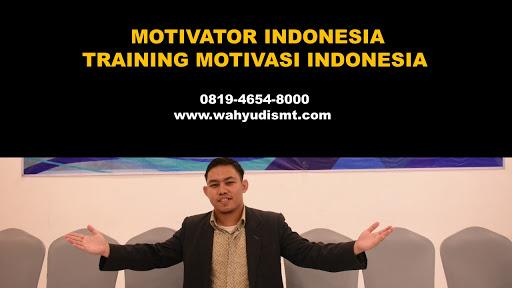 Rekomendasi Motivator Terkenal | Wahyudi SMT Motivator Sukses