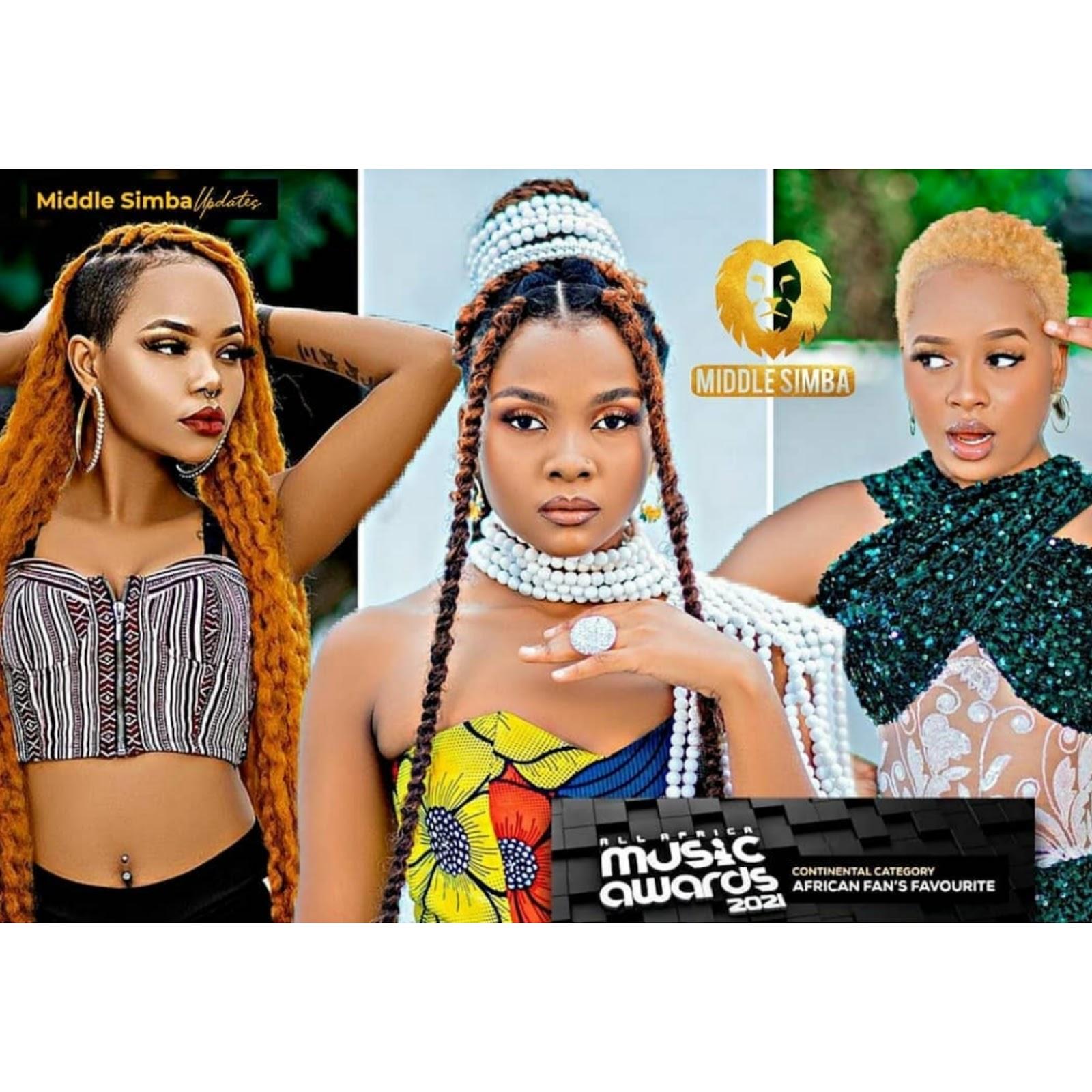 Nandy, Rosa Ree na Zuchu Ndani ya Afrima Awards, Rosa Ree Aongoza Nominations