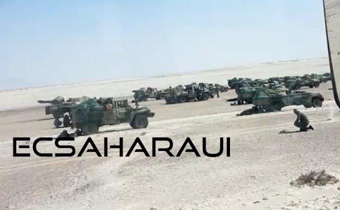Marruecos concentra más tropas en el sur del Sáhara Occidental.
