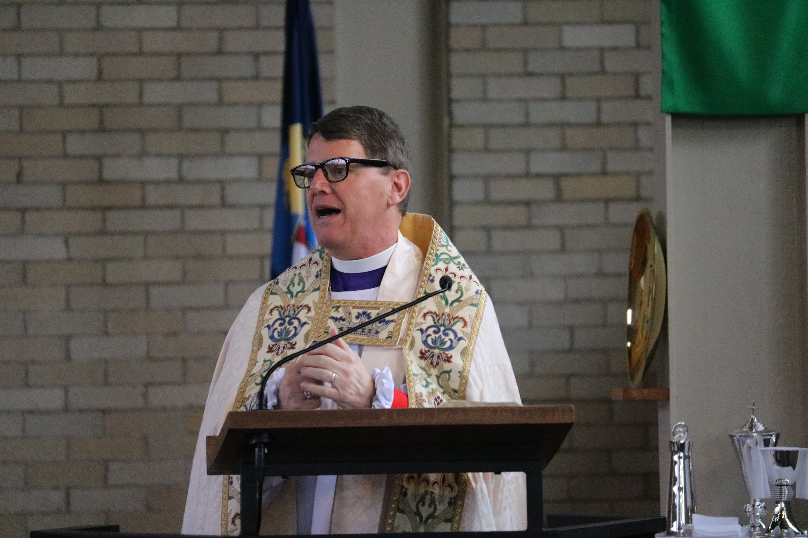 Bishop Hobby's Visit 11-5-17