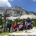 Ekipa spremna za uspon na Jezersku Kočnu