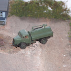 A Dennis (DEN1) Cesspit emptier that I modified by adding a gully emptier arm made from bits from the scrap box.