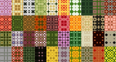 Free Seamless Patterns Set 13